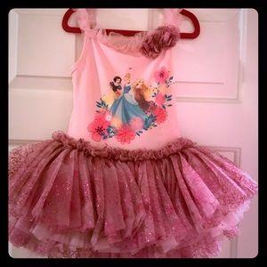 Disney Girls princess tutu dress
